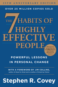 book cover 7 Habits