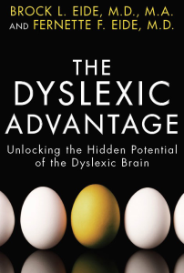 book cover Dyslexia Advantage
