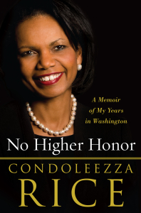 book cover No Higher Honor