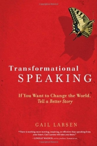 book cover Transformational Speaking