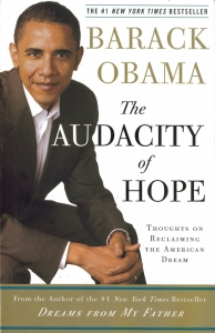 book cover audacity of hope